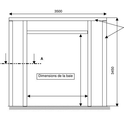 Ossature pour équipement de quai - SAS Novo Seal 420