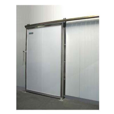 Porte coulissante Ultra, sur panneaux industriels