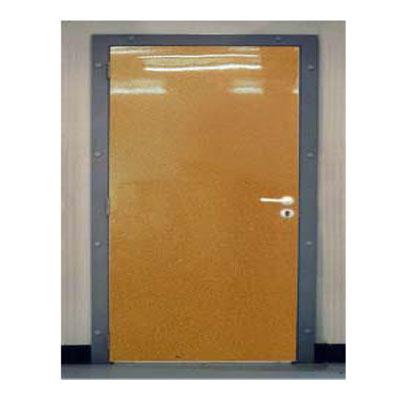 Porte de service isoplane - vantail polyester sur panneaux industriels